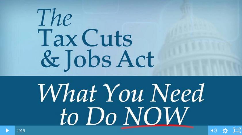 Tax Cuts and Job Act